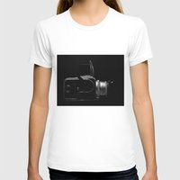 Hasselblad 500cm Womens Fitted Tee White SMALL