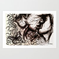 About the Chaos Theory and The Butterfly Effect  Art Print