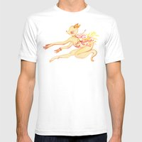 Study Of Dancer 6 En L�… Mens Fitted Tee White SMALL