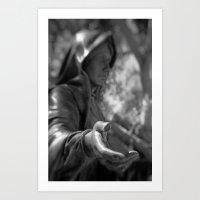 Grab my hand Art Print
