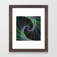Wormhole Framed Art Print