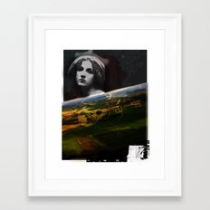 person place thing 1 Framed Art Print