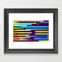 Opaline Framed Art Print