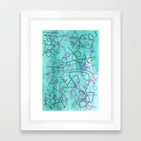 Abstract 174 Framed Art Print