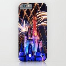 Walt Disney World Christmas Eve Fireworks iPhone 6 Slim Case