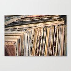 Album Covers Canvas Print