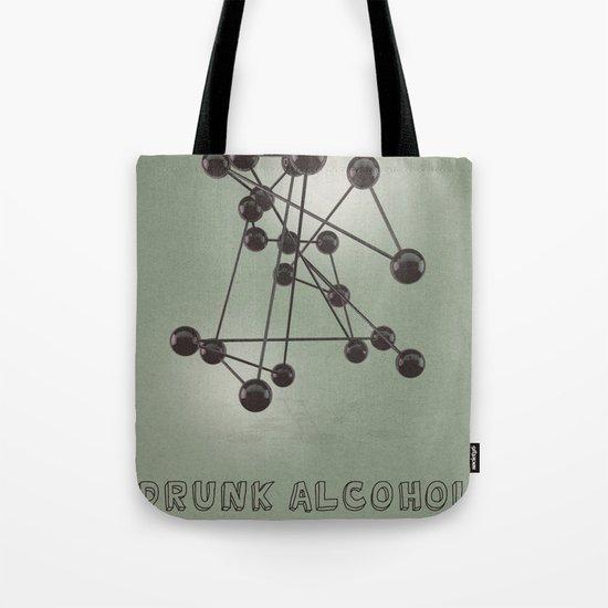 Drunk Alcohol Tote Bag