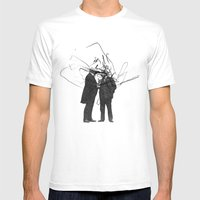 Quick Question Mens Fitted Tee White SMALL
