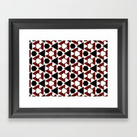 Van Steensel Pattern Framed Art Print