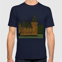 Jethro's Castle Mens Fitted Tee Navy SMALL