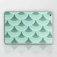 Ocean Fan Tail. Laptop & iPad Skin