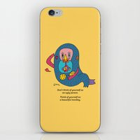 Think Differently iPhone & iPod Skin