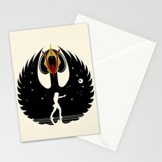 Queen Swan Stationery Cards