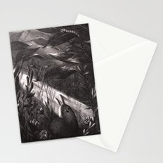 Small, Precious Creature Yawns in a Sunbeam Stationery Cards