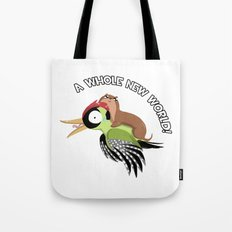 A Whole New World! Tote Bag