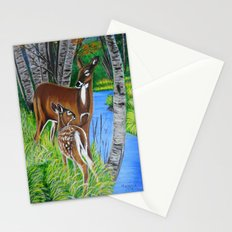 In the wooods  Stationery Cards