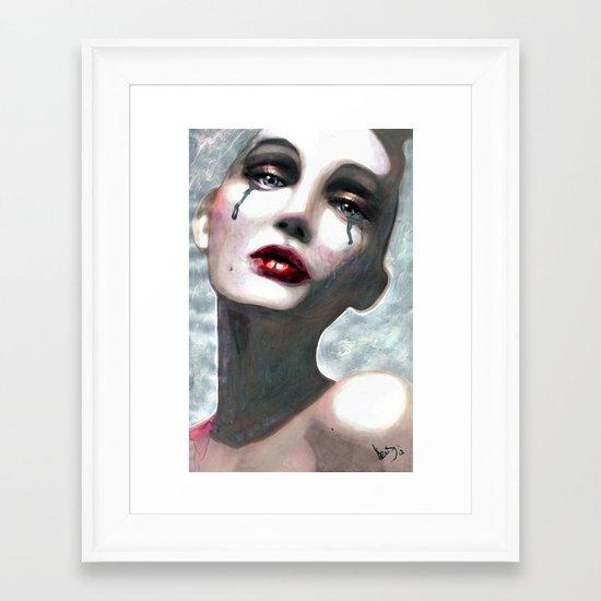 Taïa Framed Art Print
