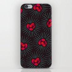 Burning Hearts iPhone & iPod Skin