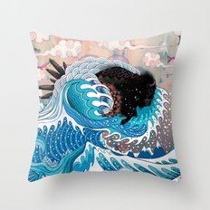 The Unstoppabull Force Throw Pillow