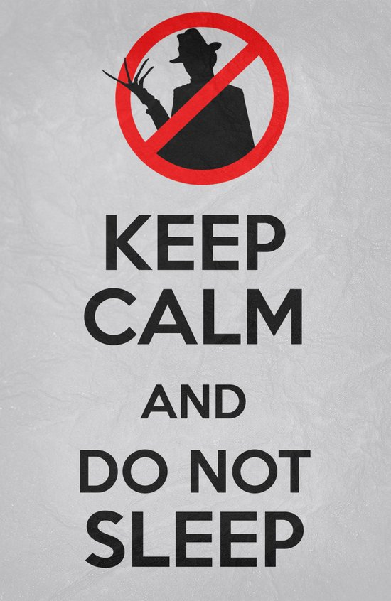 Keep Calm - Freddy Poster 01 Art Print