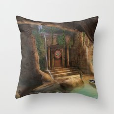 Magic explorer Throw Pillow