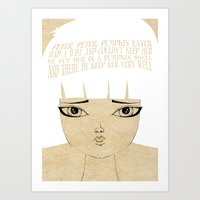 Kept Her Very Well - Les… Art Print