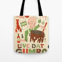Love Dat Gumbo Tote Bag