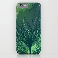 iPhone & iPod Case featuring Green Rootz  by Lollis Werks