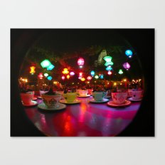 Disneyland Teacups  Canvas Print