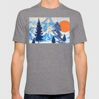 Pine & Sun Mens Fitted Tee Tri-Grey SMALL