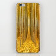 Yellow Forest iPhone & iPod Skin