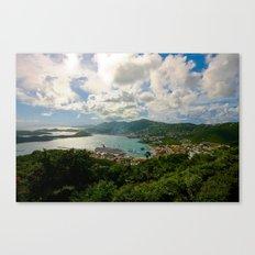 Charlotte Amalie Canvas Print