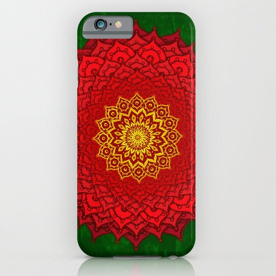 okshirahm rose mandala iPhone & iPod Case