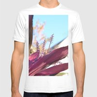 Santa Barbara Plant Mens Fitted Tee White SMALL