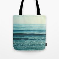 Beach Waves. Somewhere  Tote Bag
