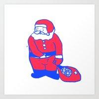Present from santa Art Print