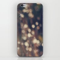 Sparkling Fairy Lights iPhone & iPod Skin