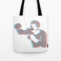 Boxing Ali (coulour) Tote Bag