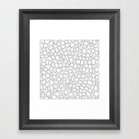 British Mosaic DIY Framed Art Print
