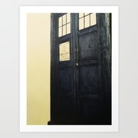 Doctor Who: Time And Rel… Art Print