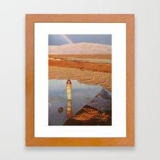 collage 18 Framed Art Print