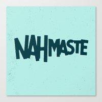 Nahmaste Canvas Print