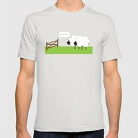 After Ewe Mens Fitted Tee Silver SMALL