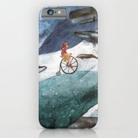 iPhone & iPod Case featuring Whales by Judith Chamizo