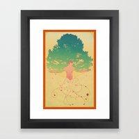 Otium Framed Art Print