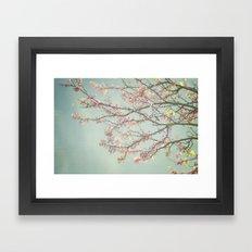 Spring is here Framed Art Print