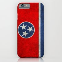 Tennessee State flag, Vintage version iPhone 6 Slim Case