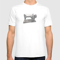 Singer Mens Fitted Tee White SMALL