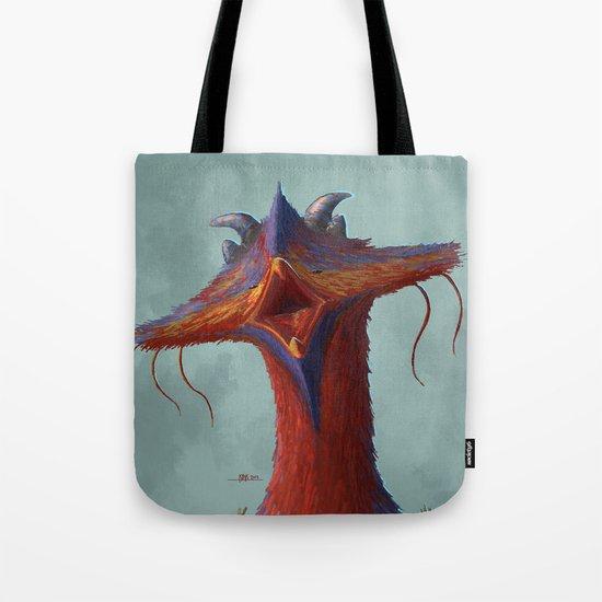 Beak portrait Tote Bag