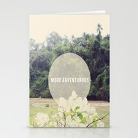 More Adventurous Stationery Cards
